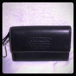 Original Coach coin purse key chain